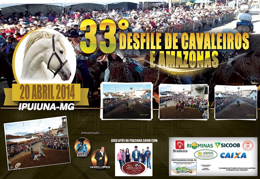 33º Desfile de Cavaleiros