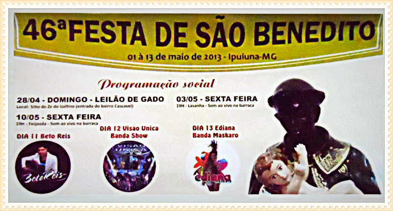 Festa Sao Benedito 2013
